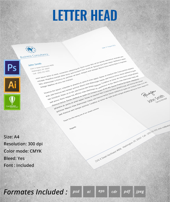 business_consultency_letterhead
